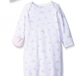 Little Girl Gown   Little Me Girls' 2-Piece Gown & Hat Set