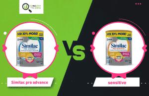 similac pro advance vs sensitive