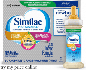 Similac pro advance formula and the best types of milk powder